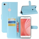Promo Premium Leather Flip Cover Wallet Casing Ponsel For Xiaomi Redmi Note 5A Oem Terbaru