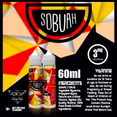 Promo Premium Liquid Sobuah Sop Buah 60Ml 30Mg Murah E Vape Vaping Vapor Vaporizer Akhir Tahun