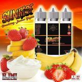 Obral Premium Liquid Sunrise Ejmi Strawberry Banana Yoghurt Murah E Vape Vaping Vapor Vaporizer Murah