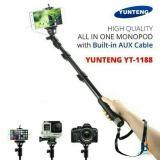 Jual Premium Monopod Tongsis Yunteng Cable Original Yunteng Kabel Yt 1188 Grosir