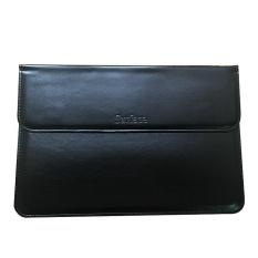 Premium PU Leather Sleeve Case Bag untuk Microsoft Permukaan Pro 4-Hitam-Intl