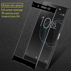 Harga Premium Tempered Glass Sony Xperia Xa1 Ultra Anti Gores Kaca Full Screen 2 5D List Warna Hitam Lengkap