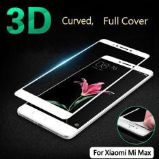 Premium Tempered Glass Xiaomi Mi Max Anti Gores Kaca Full Screen 2.5D List Warna - Putih
