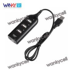 Premium USB HUB 4 Port 2.0 Universal Serial Bus - Hitam