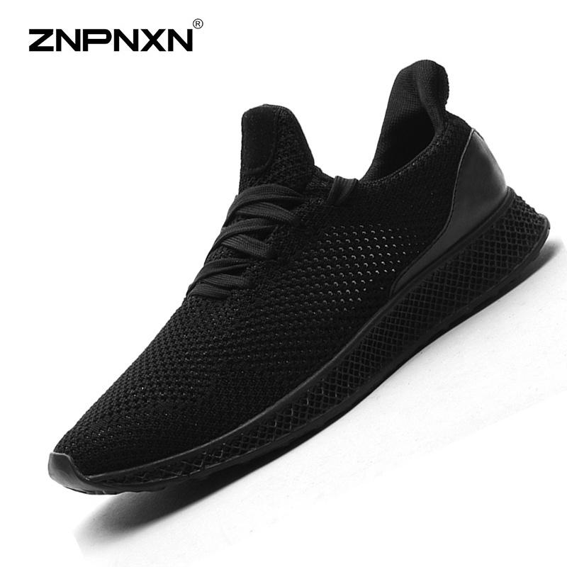 Jual Pria S Sepatu Fashion Tren Olahraga Dan Rekreasi Sepatu Nyaman Bernapas Men S Shoes Outdoor Leisure Shoes Trend Sepatu Hitam Intl Murah Di Tiongkok