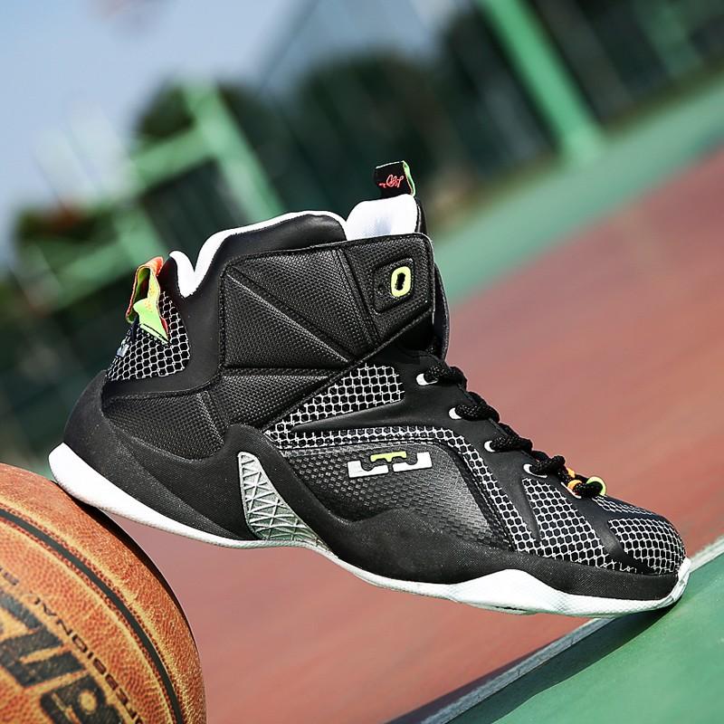 Beli Pria Basketball Shoes Membantu Tinggi Basket Sepatu Wear Boots L Intl Yang Bagus