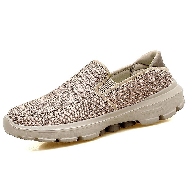 Beli Pria Fashion Tenun Sepatu Nyaman Casuals Sepatu Bernapas Knitting Sneakers Plus Ukuran 37 45 Intl Pakai Kartu Kredit