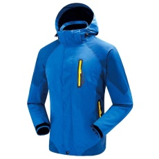 Pria Jaket 3 In 1 Waterproof Hiking Climbing Outdoor Jaket Perempuan  Camping Ski Windproof Fleece Thermal ccca6e8e28