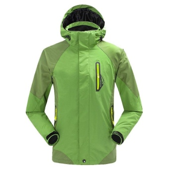 Harga preferensial Pria Jaket 3 In 1 Waterproof Hiking Climbing Outdoor  Jaket Perempuan Camping Ski Windproof Fleece Thermal Mantel Jaket Musim  Dingin- ... 50a1aff43e