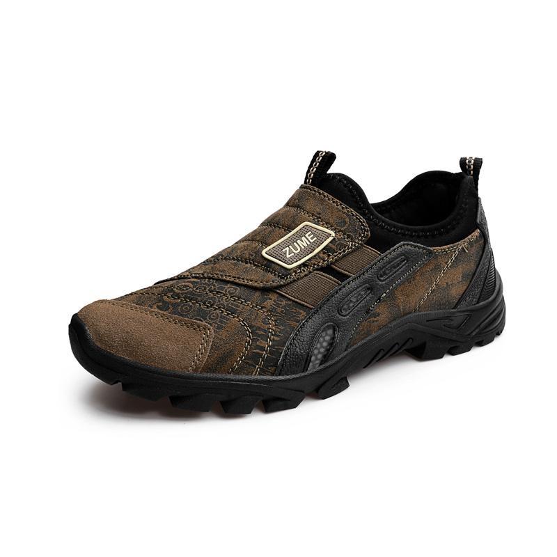 Review Pria Kualitas Tinggi Luar Ruangan Hiking Sepatu Anti Lengket And Bernapas Sepatu Olahraga Plus Ukuran 39 45 Oem
