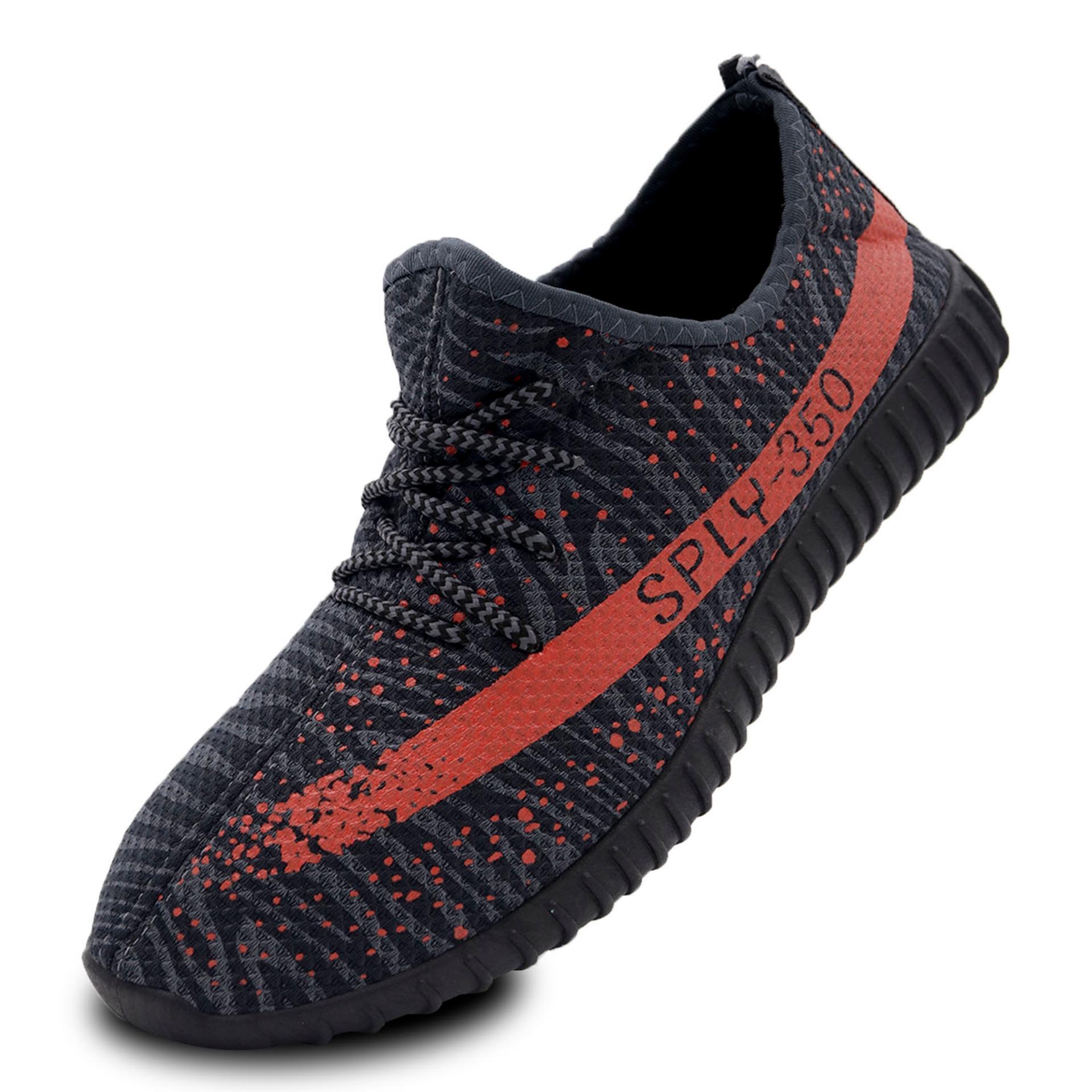 Spek Pria Model Sepatu Olahraga Stylish Comfortable Men Sneaker Yzy Sply 350 Dark Grey Quincylabel