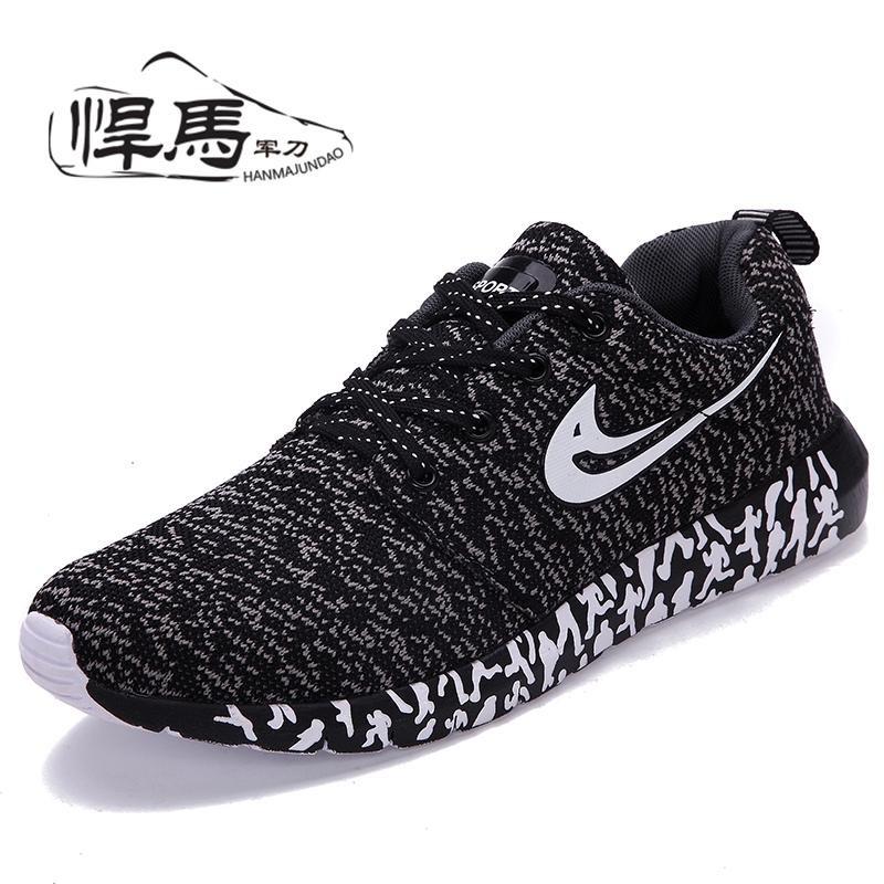 Toko Pria Sepatu Kasual Pria Musim Panas Outdoor Olahraga Sepatu Sepatu Breathable Mesh Boys Sepatu Tenis Kencang Intl Di Tiongkok