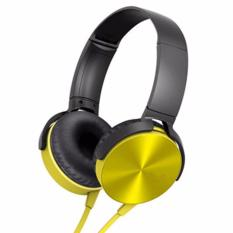 Toko Prime Dj Power Style Extra Bass Headphone Kuning Prime Di Indonesia
