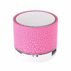 Prime Mini LED Bluetooth Speaker Cracked Colour Edition - Pink