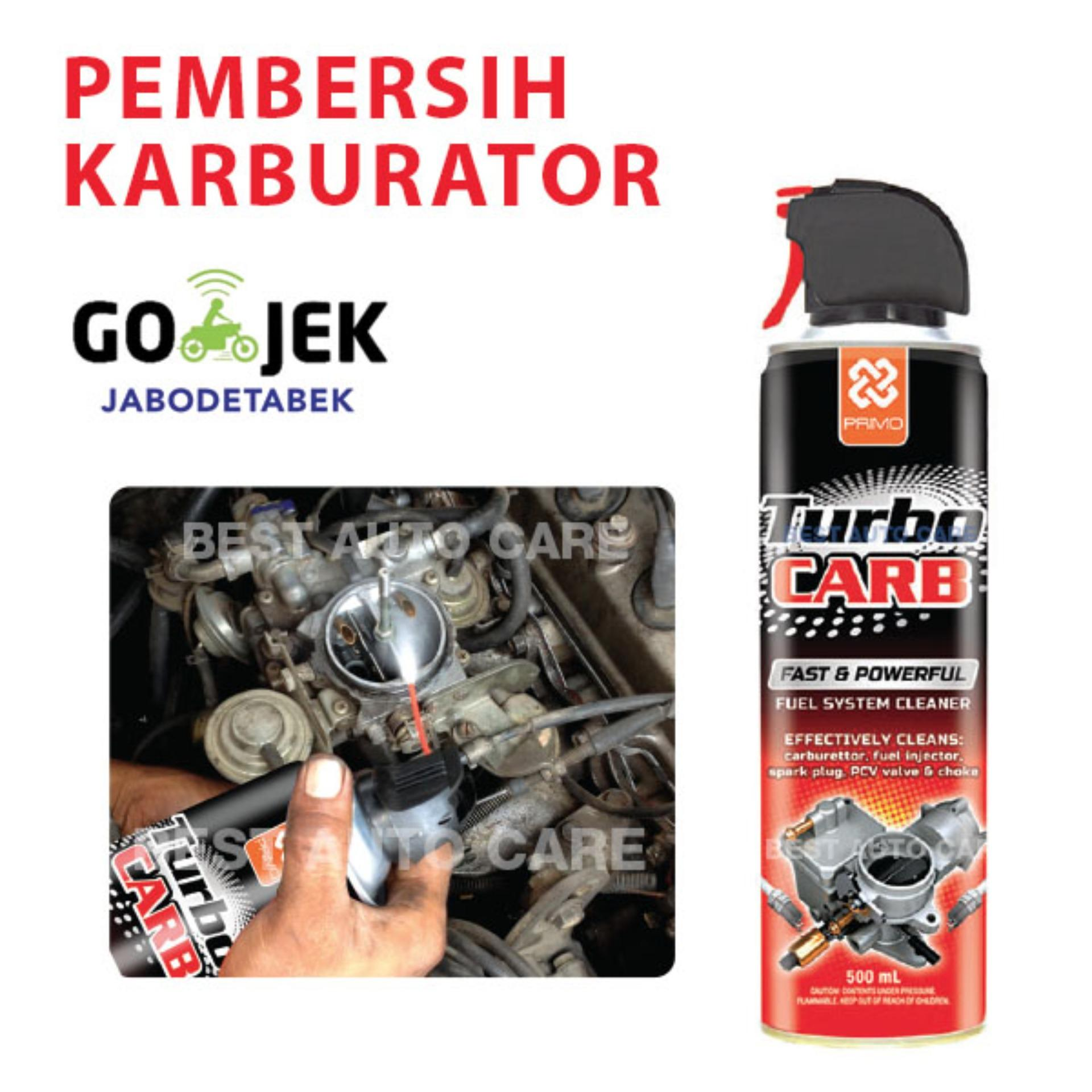 Primo Turbo Carb Carburator Cleaner Pembersih Karburator - 500 mL