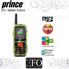 Prince PC-9000 Special Edition Army 3 Sim Card - HIJAU LORENG