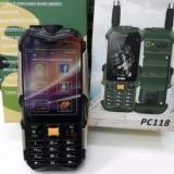 Jual Prince Pc118 Android 3G Bisa Powerbank Outdoor Hitam Murah