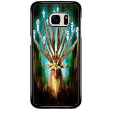 Princess Mononoke Deer A1387 Casing Samsung Galaxy S7 Flat Custom Case