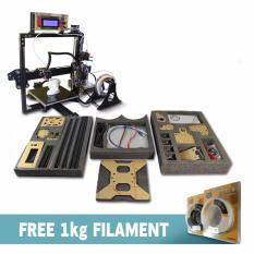 Printer 3D Prusa i3 Aluminium Kit + Free PLA Filament 1000gr
