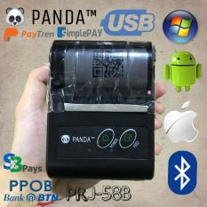 PRINTER BLUETOOTH PPOB STRUK KERTAS 58MM THERMAL PANDA PRJ-58B BUAT PAYTREN-SBPAY-SIMPLEPAY BISA BUAT KASIR SUPPORT