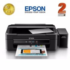 Printer EPSON L360 - Hitam (Print, Scan, Copy)