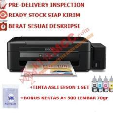 Printer Epson L360 Multifungsi Infus + Tinta + Kertas 1 Rim  Peripheral Komputer