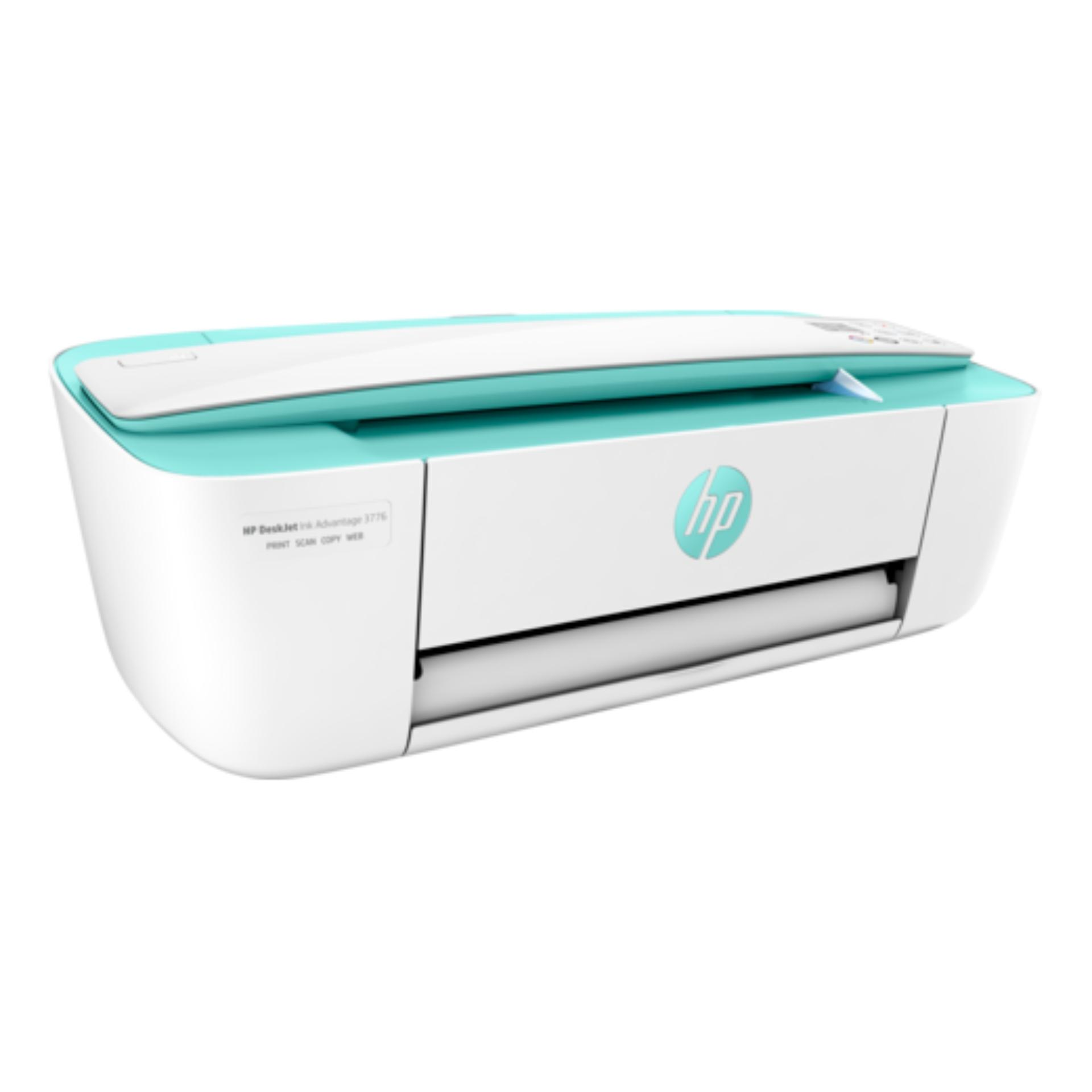 Printer HP DeskJet Ink Advantage 3776 (T8W39B) - Hijau Putih