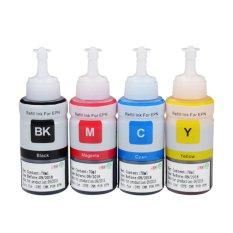 Printer Tinta Refill Tinta Kit untuk Epson L100 L110 L120 L132 L210 L222 L300 L312 L355 L350 L362 L366 L550 L555 L566 L800 L801-Intl