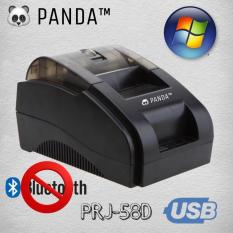 PRINTER KASIR THERMAL PANDA PRJ-58D UKURAN KERTAS STRUK 58MM-SUPPORT WINDOWS VIA USB-TANPA BLUETOOTH-SUPPORT CASH DRAWER-LACI UANG