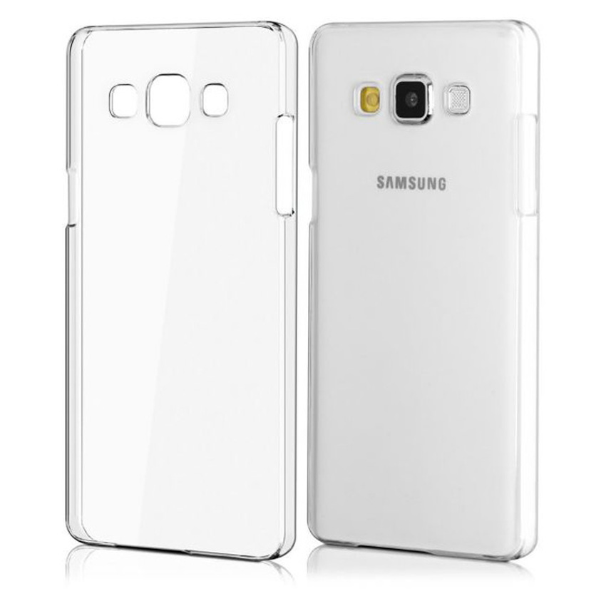 Priskila Ultrathin Softcase Untuk Samsung A5 A500 Case Lentur Transparan Silicon Casing Cover - Putih Clear