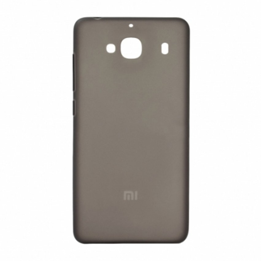 ... Priskila Ultrathin Softcase Untuk Xiaomi Redmi 2S Case Lentur Transparan Silicon Casing Cover - Hitam