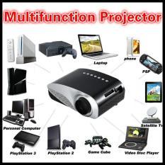 Pribadi Dual HDMI SD USB AV VGA Video Film Keluarga Proyektor Full HD Permainan Mudah Micro Proyektor EMP GP8S LCD mini Portable 4 K Home Theater-Intl