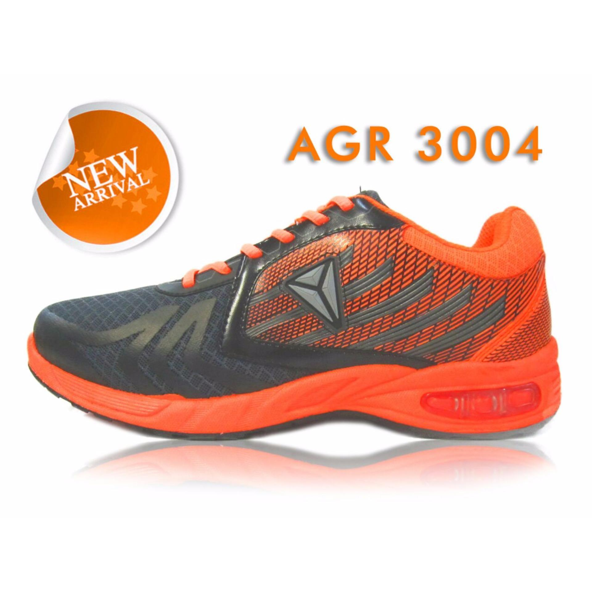 Beli Pro Att Agr 3004 Sepatu Olahraga Sepatu Lari Warna Abu Orange Pakai Kartu Kredit