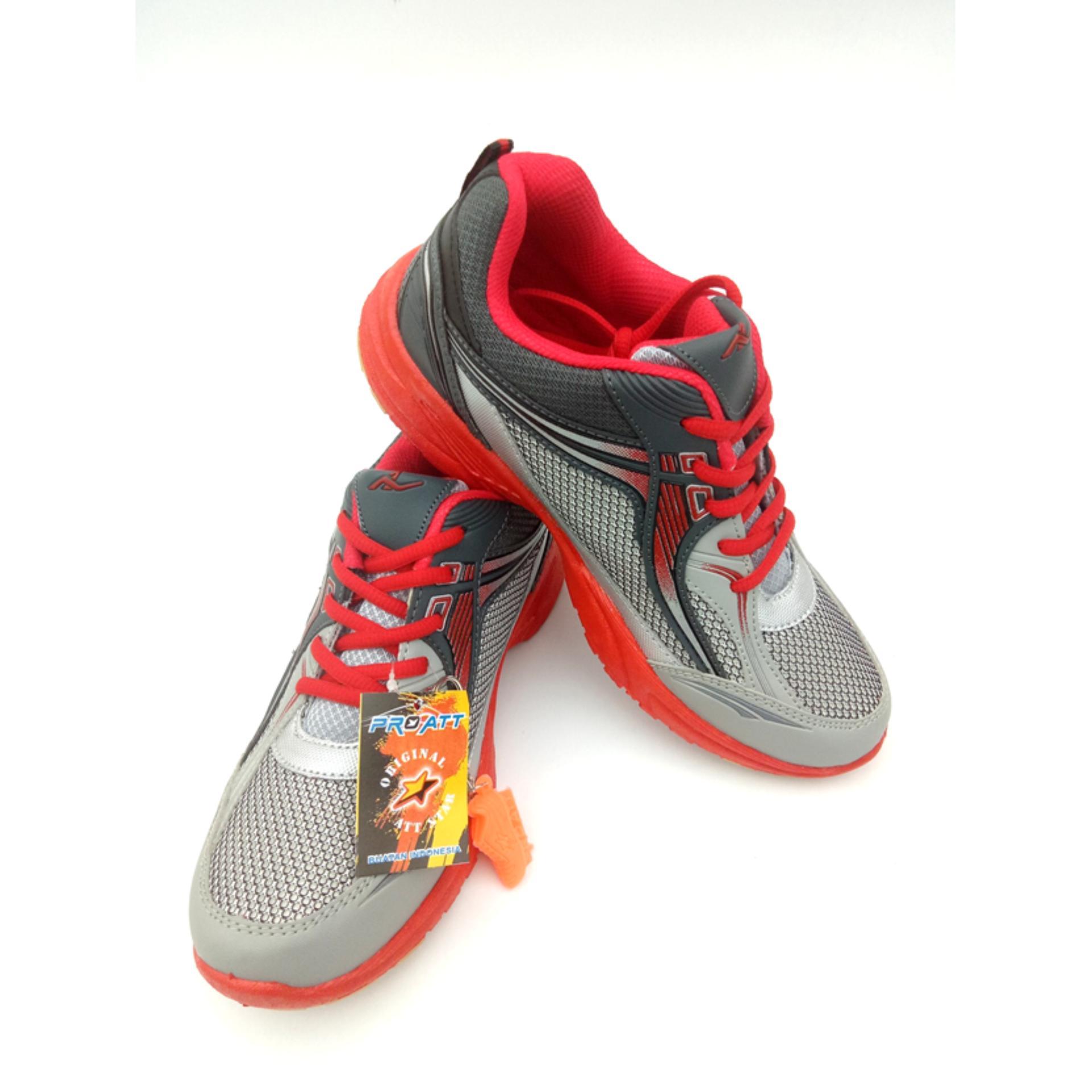 Jual Pro Att Original Mc 50 Biru Abuabu Sepatu Olahraga Pria Sepatu Lari Pria Pro Att Asli