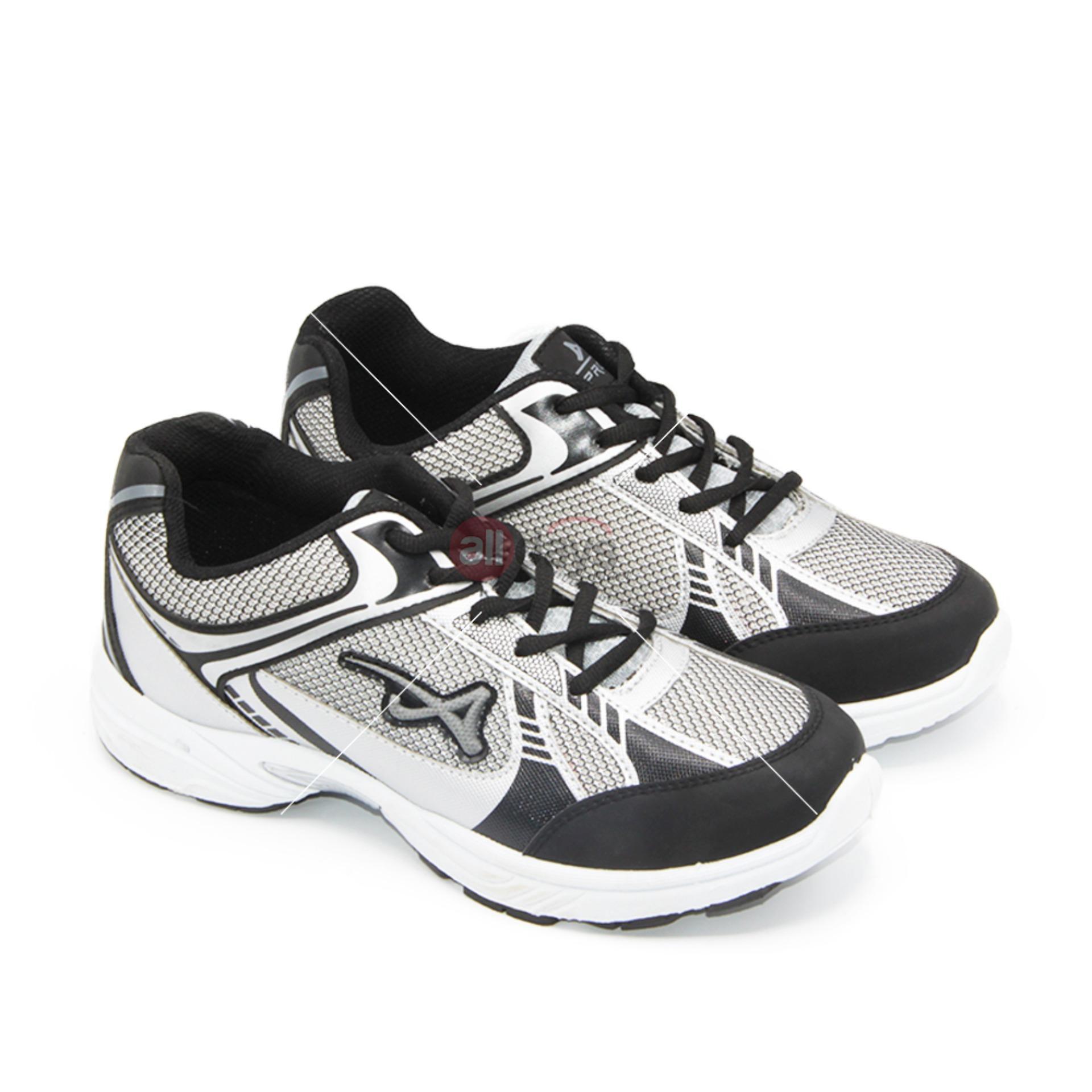 Beli Pro Att Sepatu Sport Sneakers Sepatu Lari Kasual Dan Sepatu Kets Mc 04 Abu Abu Hitam Putih Size 39 42 Nyicil