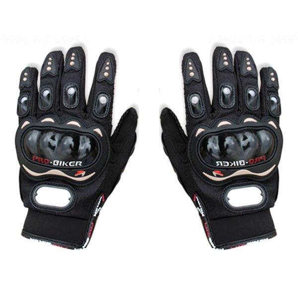 Spesifikasi Probiker Sarung Tangan Full Batok Hitam Hitam Yg Baik