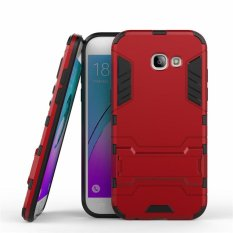 ProCase Kickstand Hybrid Armor Iron Man PC+TPU Back Cover Case for Samsung Galaxy A520