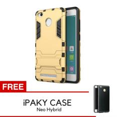 Rp 29.000 ProCase Kickstand Hybrid Armor Iron Man PC+TPU Back Cover Case for Xiaomi Redmi 3s / 3 Pro ...