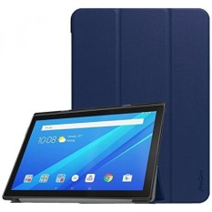 ProCase Lenovo Tab 4 10 Case, Slim Stand Hard Shell Case Smart Cover untuk Enovo Tab 4 10.1 Android Tablet, dengan Auto Sleep/Wake-Navy-Intl