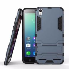 ProCase Shield Rugged Kickstand Armor Iron Man PC+TPU Back Covers for Lenovo A6000 - Black