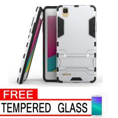 Rp 25.000 ProCase Shield Rugged Kickstand Armor Iron Man PC+TPU Back Covers for Oppo F1 ...