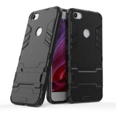 ProCase Shield Rugged Kickstand Armor Iron Man PC+TPU Back Covers for Xiaomi Redmi Note 5A - Full Black