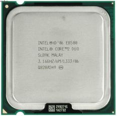 PROCESSOR INTEL CORE2 DUO E8500 (3.16 GHZ)  LGA 775 /GARANSI 1 TAHUN