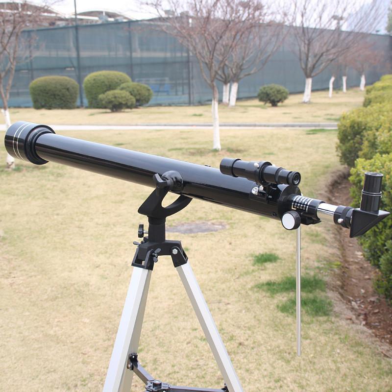 Profesional F900X60 900 60Mm Refraktor Ruang Teleskop 225X Magnifying Intl Terbaru