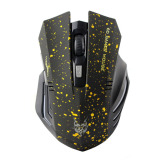 Profesional 2 4 Ghz 1600 Dpi Usb Mouse Gaming Nirkabel Untuk Pc Laptop Tikus Mac Kuning Poin Asli