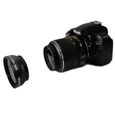 Profesional 52 Mm 2x Lensa Telefoto untuk Nikon D5100 D3200 D70 D40 DSLR-Internasional