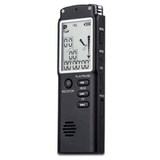 Katalog Professional 8Gb Time Display Recording Digital Voice Audio Recorder Mp3 Player Intl Oem Terbaru