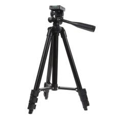 Perjalanan Profesional Tripod Kamera Digital Camcorder Video Tilt Pan Kepala (Black)