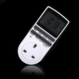 Promo Programmable Digital Timer Switch Socket Ac Electric Power Lcd Display Timeswitch Intl
