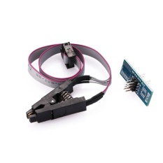 Programmers SOP8 Pin IC Test Fixture Cable Flash Accessories Programming Devices - intl